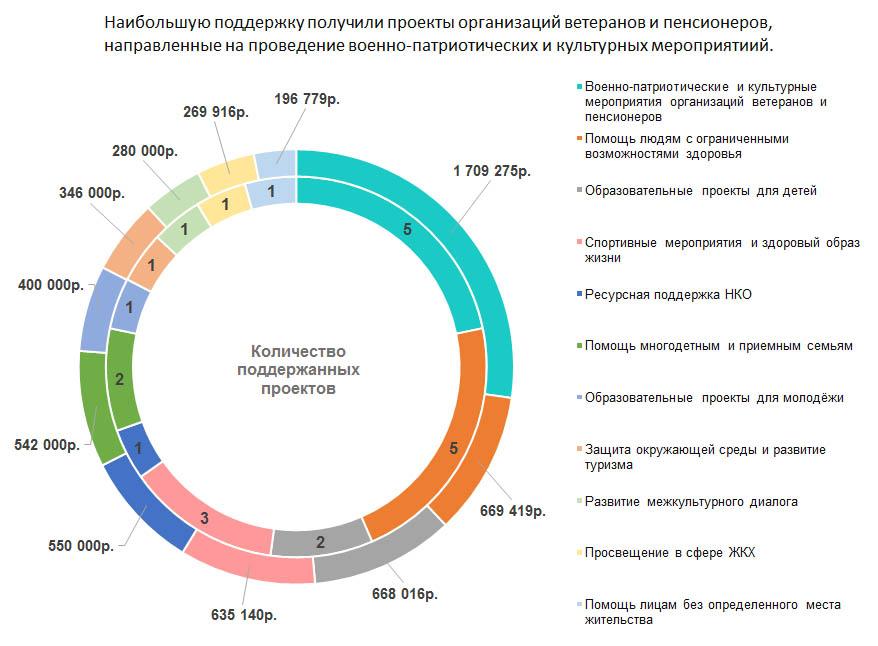 Направления проектов Конкурса СО НКО Самарской области 2016