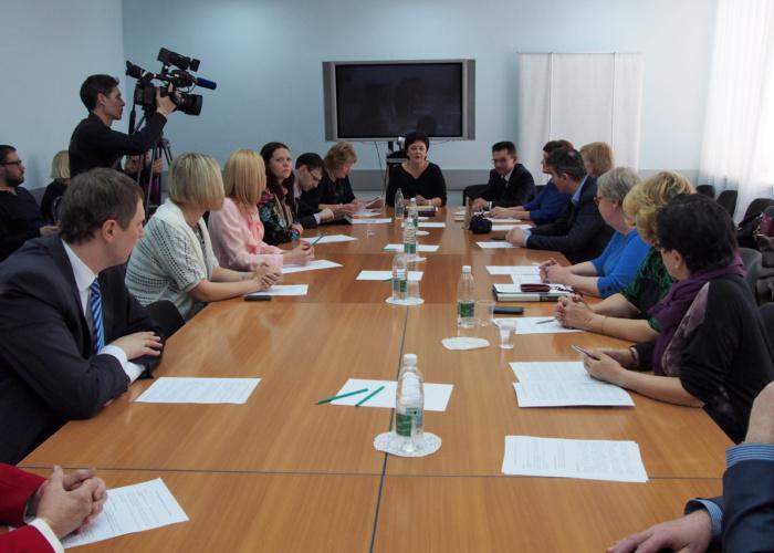 Заседание Благотворительного совета Самарской области 21 марта 2017 г.