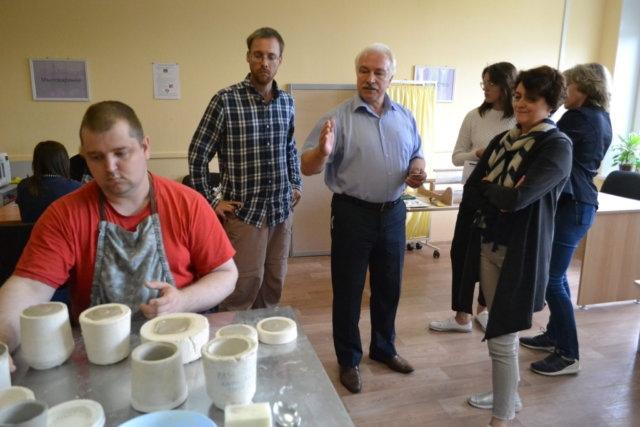 Представитель Автономной некоммерческой организации «Школа-Музей-Культура» из г.Новокуйбышевск на стажировке по программе.